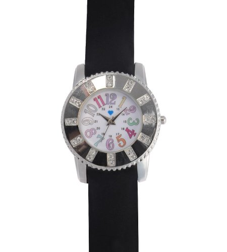 Cheap Nurse Mates Baguette Nursing Scrub Watch 921701 Black Black (B007KFNKPK)