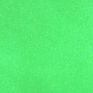 Flag Poi - Blacklight Green
