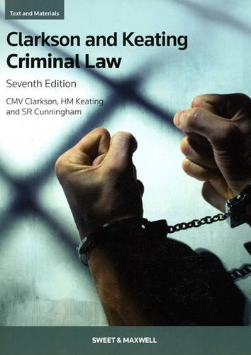 Criminal Law: Text and Materials