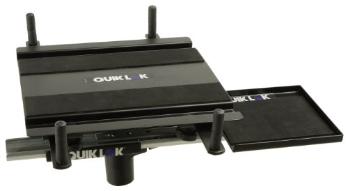 Quik Lok LPH/X Add-On Laptop Holder for X-Series Stands