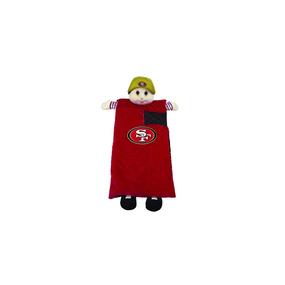 San Francisco 49ers Mascot Sleeping Bag