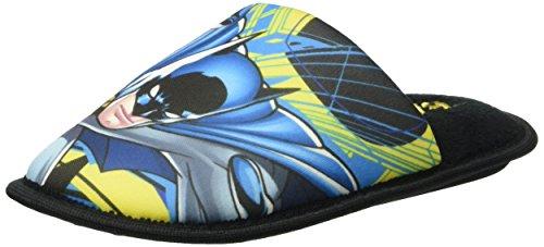 BatmanBAT BADAR - Pantofole con imbottitura leggera  Bambino , Nero (Schwarz (Black (8))), 34