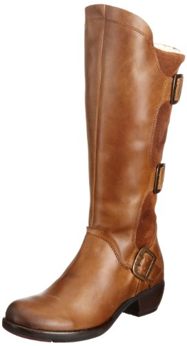 Fly London Womens Mynd Warm Boots P142909000 Camel 5 UK, 38 EU