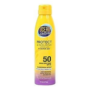 Ocean Potion Anti-aging Continuous Spray Sunblock SPF 50 - 6 Oz