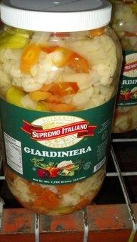 Supremo Italiano: Giardiniera 4/1 Gallon Case