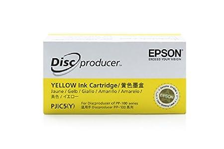Epson Discproducer PP 50 - Original Epson C13S020451 / PJIC5 - Cartouche d'encre Jaune