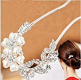 Lovely Vintage Jewelry Crystal Hair Clips Hairpins- For Hair Clip Beauty Tools