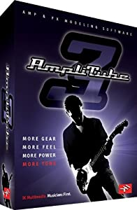 IK Multimedia AmpliTube 3 guitar and bass amp and effects modeling software