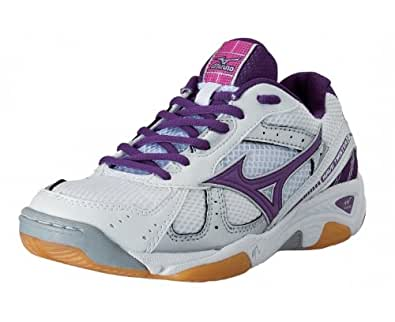 Mizuno Wave Twister 2 Women's Indoor Court Shoes - 11.5 - White