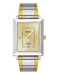 Timex Classics Analog Beige Dial Men's Watch - TW000Q407