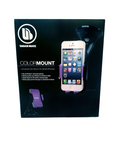 Urban Beatz Color Mount Universal Car Mount for Smart Phones