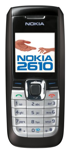 Nokia 2610 Unlocked Cell Phone--U.S. Version with Warranty (Black)