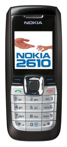 Nokia 2610 Unlocked Cell Phone--U.S. Version with Warranty (Black)