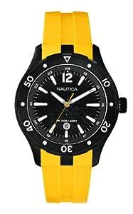 Nautica Men's Quartz Watch A15626G with Rubber Strap