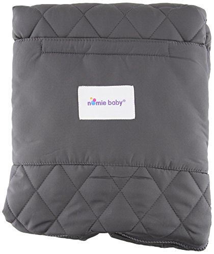 Nomie Baby Cozy Stroller Blanket, Purple, Infant