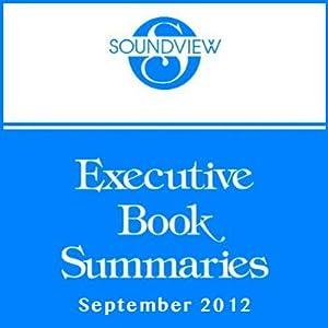 Soundview Executive Book Summaries, September 2012 | [Ron Adner, Jason Jennings, Bernard T. Ferrari]
