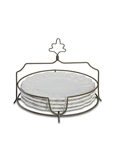 Isaac Mizrahi 5-Piece Chateau Fleur Dessert Set