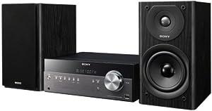Sony CMT-SBT300W Netzwerk Micro-Kompakt-System (WiFi, Apple AirPlay, Bluetooth, USB, 100 Watt, CD-Player)