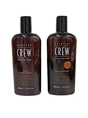 American Crew Daily Shampoo and Conditioner