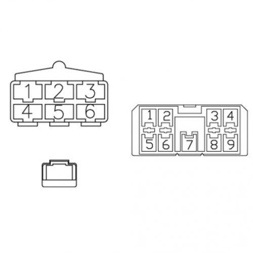 radio wiring harness kubota m8200 m5700 m9000 m4900 m6800