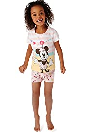 Pure Cotton Minnie Mouse Shortie Pyjamas