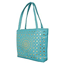 Glory Fashion Women's Stylish Handbag Firozi BB-001-B00148