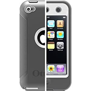 OtterBox Defender Series Case for Apple iPod touch 4G (4th Generation) - White/Gray - Retail Packaging - Glacier Gray by Apple Defender