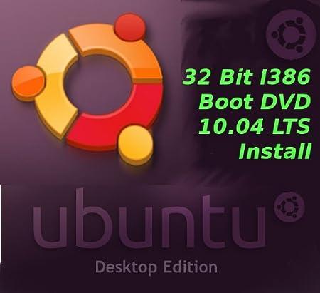 Ubuntu 10.04 32 Bit Intel I386 Install Boot ISO Lucid Lynx LTS