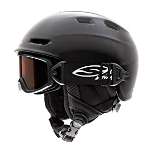 Smith Optics Galaxy or Cosmos Integration Kit Goggle (Black Frame, RC36 Lens, Small) by Smith Optics