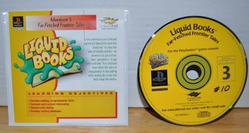 Far-Fetched Frontier Tales Reading & Lanuage Arts Adventure 3- Liquid Books Series - Lightspan Adventures - Playstation Educational Learning Objective Based Software (Approved for Class Room Use) - 1