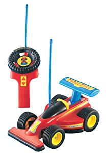 Mattel 72825 - Fisher-Price Formel 1 Junior Fernlenkflitzer, 27 MHz