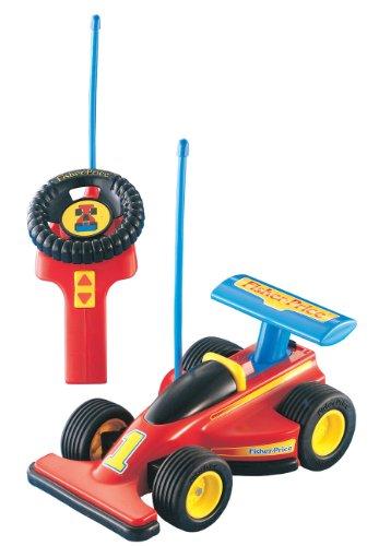 Mattel 72825 - Fisher-Price Formel 1 Junior Fernlenkflitzer, 27 MHz