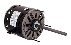 A.O. Smith FDL1036 1/3 HP, 1075 RPM, 3 Speed, 115 Volts4.2-6.0 Amps, 48 Frame, Sleeve Bearing Direct Drive Blower Motor