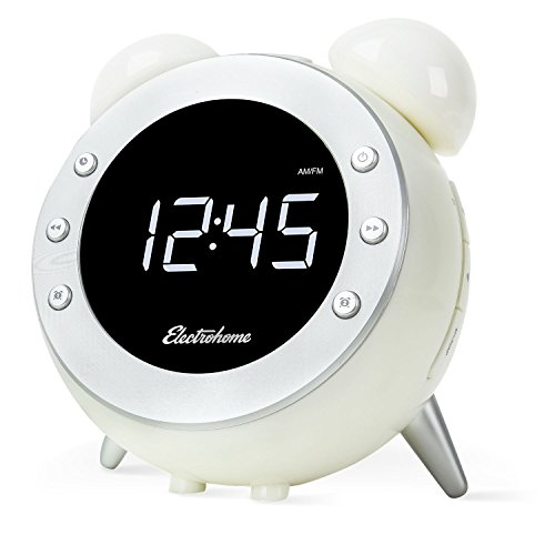 alarm clock with digital radio. Black Bedroom Furniture Sets. Home Design Ideas