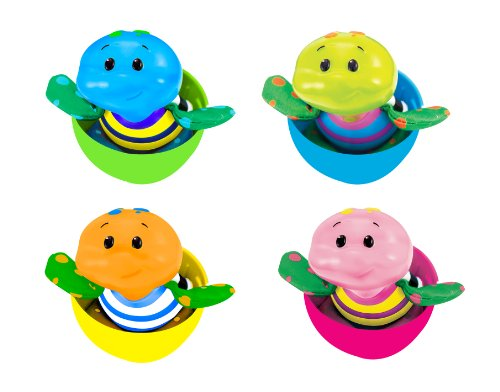 Sassy Tiny Tubtime 4 Pack, Tiny Turtles