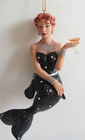 December Diamonds Stinger Mermaid Ornament