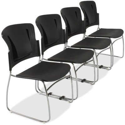 Balt Reflex Stack Chairs w/o Arms-Stack Chairs,Stacks 12 High,19-1/2