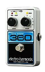 Electro-Harmonix Nano Looper 360 Electric Guitar Single Effect by New Sensor