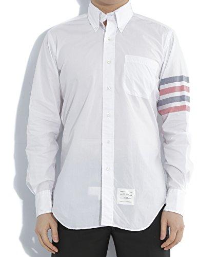 wiberlux-thom-browne-mens-striped-sleeve-detail-button-down-shirt-3-white