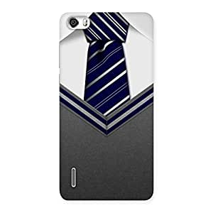 Delighted Decent Student Grey Back Case Cover for Honor 6