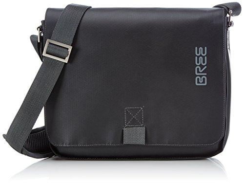 BREE-Punch-61-black-shoulder-bag-83900061-Unisex-Erwachsene-Schultertaschen-26x6x21-cm-B-x-H-x-T-Schwarz-black-900