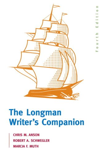 Longman Writer's Companion, The (with MyCompLab NEW with E-Book Student Access Code Card) (4th Edition)