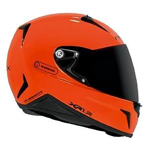 Nexx XR1R Full Face Helmet (Neon Orange, Small)