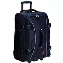 Athalon Luggage 21 Inch Hybrid Travelers Bag, Black, One Size