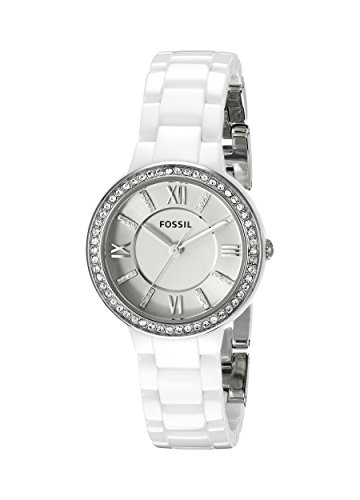 Fossil Women's CE1086 Virginia Stainless Steel Watch with ...