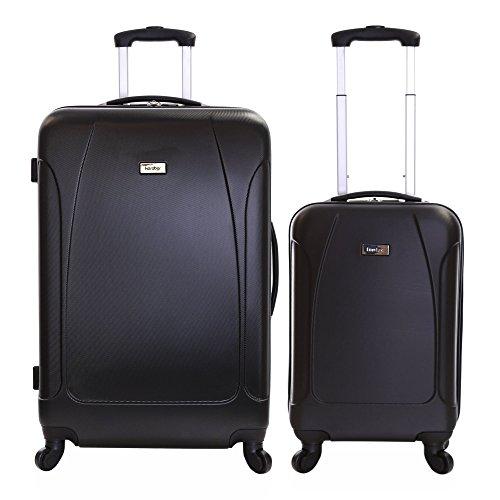 Karabar Evora set di 2 valigie rigide, Nero