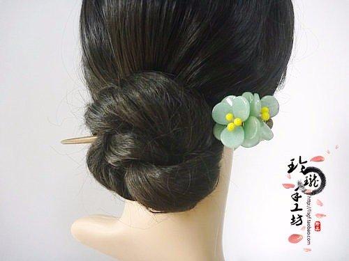 naturel-vert-bois-de-santal-parfum-classique-epingle-a-cheveux-cheveux-accessoires-naturel-tanglin-j
