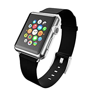 Incipio Smartwatch Replacement Band for Apple Watch 42mm - Retail Packaging - Ebony