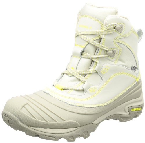Merrell Womens SNOWBOUND MID WTPF Trekking & Hiking Shoes Ivory Elfenbein (SILVER BIRCH) Size: 4 (37 EU)