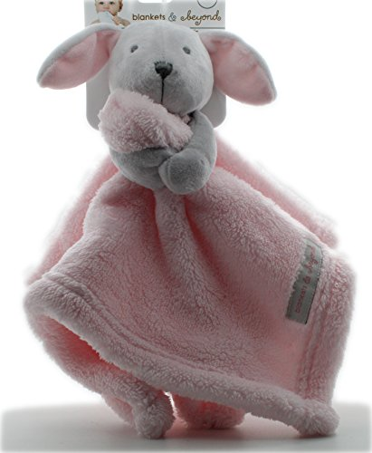 Bunny Security Blanket (Pink & Gray)